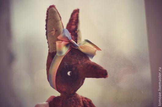 Мишки Тедди ручной работы. Ярмарка Мастеров - ручная работа. Купить плюшевая лиса Chocolate. Handmade. Коричневый, лис