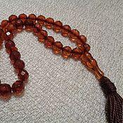Фен-шуй и эзотерика handmade. Livemaster - original item Rosary 33 natural amber beads. Handmade.