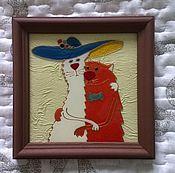 Картины и панно ручной работы. Ярмарка Мастеров - ручная работа Сладкая парочка. Handmade.