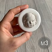 Материалы для творчества handmade. Livemaster - original item Mold M3 (form for making the face). Handmade.