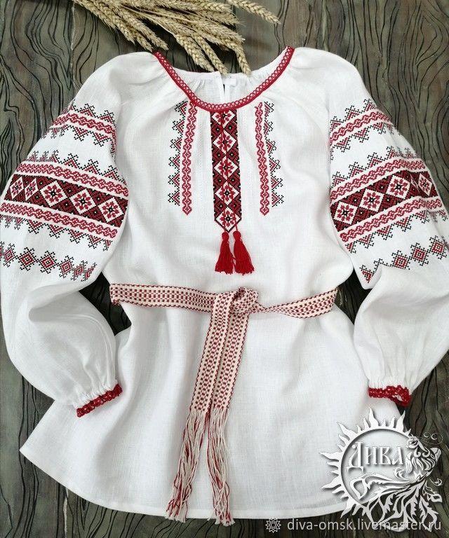 """Рубаха женская """"Равноденствие"""", Народные рубахи, Омск,  Фото №1"""