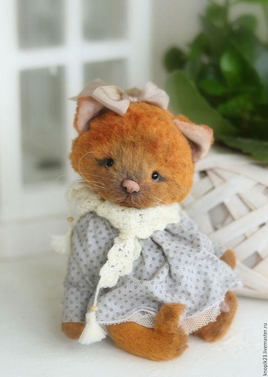 Мишки Тедди ручной работы. Ярмарка Мастеров - ручная работа. Купить Айне. Handmade. Рыжий, вискоза