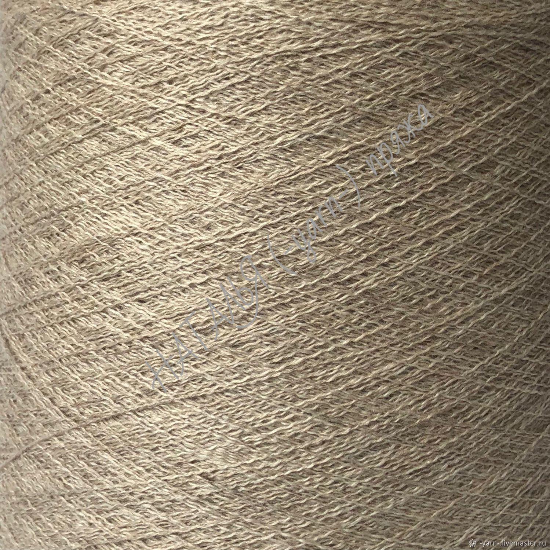 Пряжа Кашемир меринос CASH OVER песок – купить на Ярмарке Мастеров – K4NKMRU | Пряжа, Санкт-Петербург