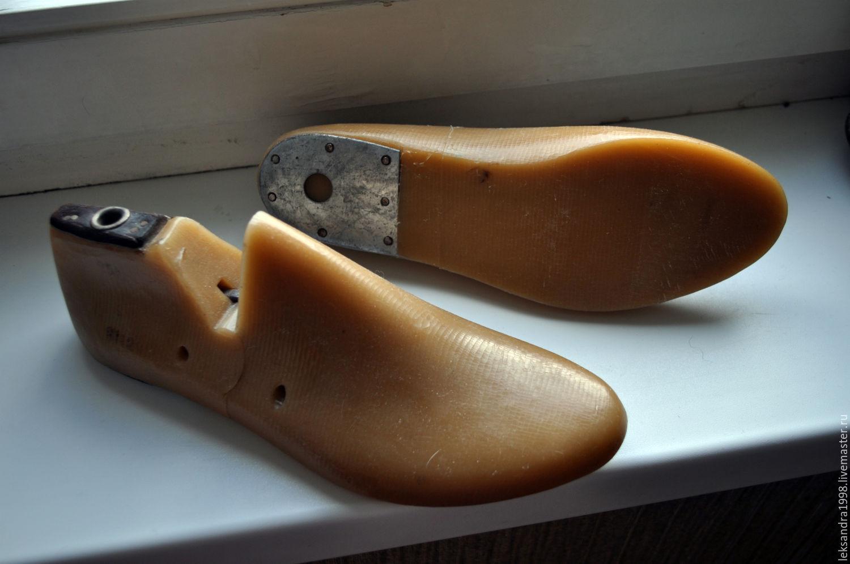 Сделать обувные колодки своими руками