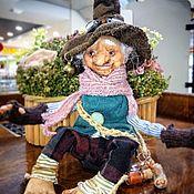 Для дома и интерьера handmade. Livemaster - original item Interior figure: gnome Klim. Handmade.