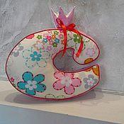 Пасхальные сувениры ручной работы. Ярмарка Мастеров - ручная работа Мягкая буква. Handmade.