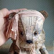 Куклы и игрушки ручной работы. Ярмарка Мастеров - ручная работа Мишка Тедди из бумаги. Аля.. Handmade.