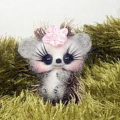 Куклы и игрушки ручной работы. Ярмарка Мастеров - ручная работа Ежик 3. Handmade.