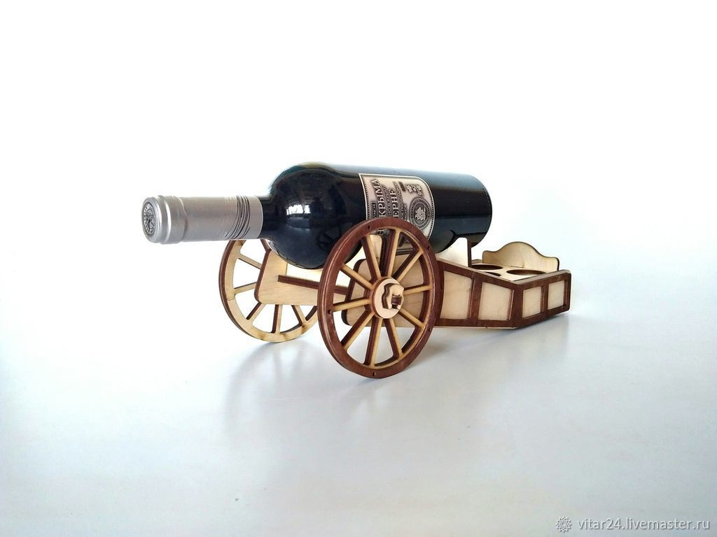 Wine rack, mini-bar 'PUSHKA', Souvenir weapon, Tolyatti,  Фото №1