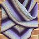 Order Shawl Lavender (Danish shawl traditional). Brownie. Livemaster. . Shawls Фото №3