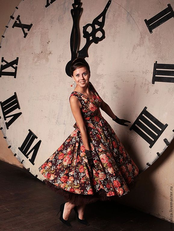 Retro dress in the style of the 50s Back to the future, Dresses, Moscow,  Фото №1
