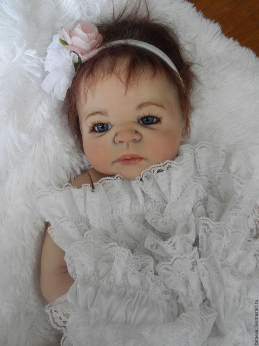 "Куклы-младенцы и reborn ручной работы. Ярмарка Мастеров - ручная работа. Купить Кукла ""Алина"". Handmade. Чёрно-белый, пупс"