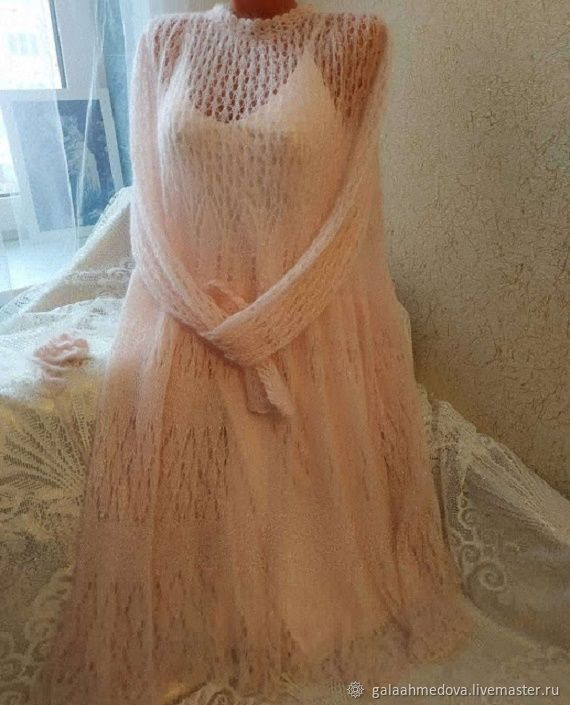Elegant mohair dress oversize 'Elena' handmade, Dresses, Dmitrov,  Фото №1