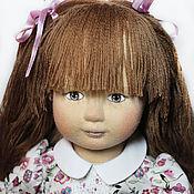 Куклы и игрушки handmade. Livemaster - original item Textile doll Nyusha. Handmade.