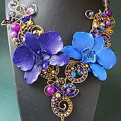 Украшения handmade. Livemaster - original item Necklace Two Mysteries Midnight. Handmade.