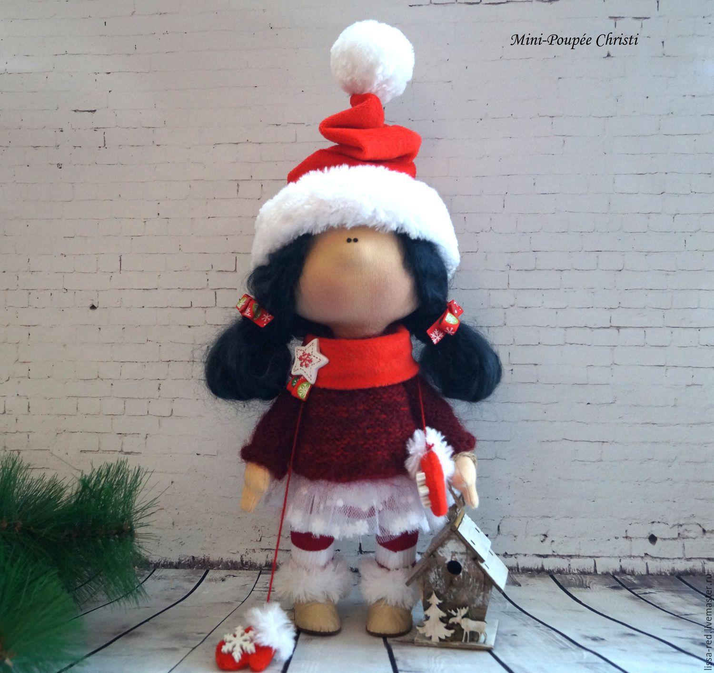 """Коллекционные куклы ручной работы. Ярмарка Мастеров - ручная работа. Купить Куколка """"Девочка Christi """". Handmade. Осень, тыква"""