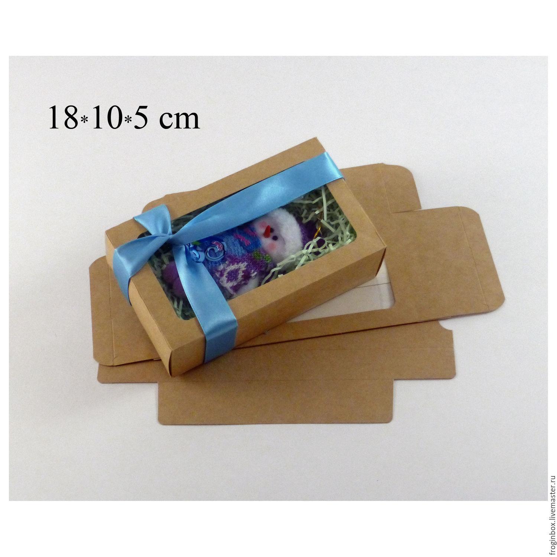 Коробочка с выдвижным дном 18х10,5х5,5 см