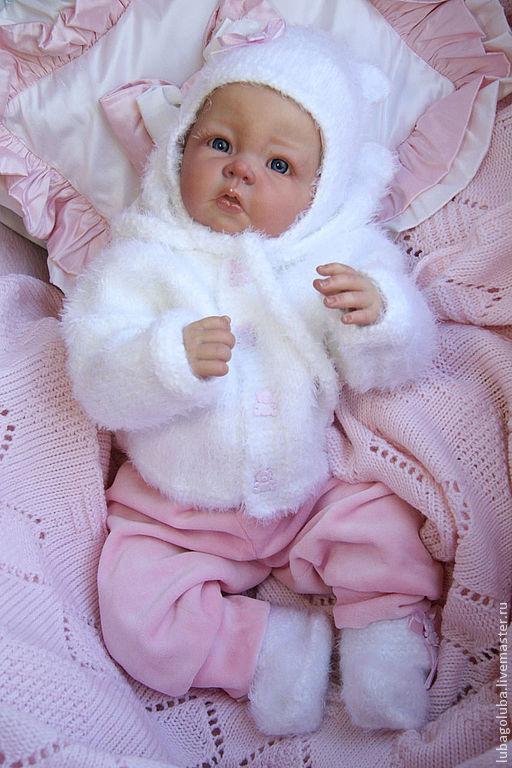 Куклы-младенцы и reborn ручной работы. Ярмарка Мастеров - ручная работа. Купить Малышка реборн Каролин. Handmade. Реборн, холофайбер