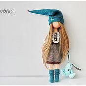 Куклы и пупсы ручной работы. Ярмарка Мастеров - ручная работа Сонная гномочка Моника.Текстильная кукла.. Handmade.