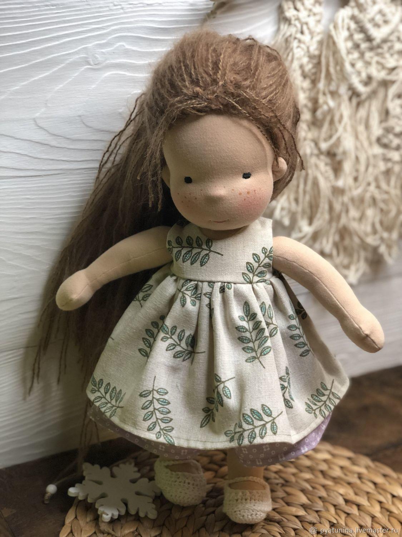 Вальдорфская куколка, 40 см, Вальдорфские куклы и звери, Москва,  Фото №1