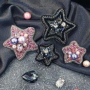 Украшения handmade. Livemaster - original item Star brooch / pair star brooch / girlfriend gift / brooch star. Handmade.