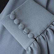"""Одежда ручной работы. Ярмарка Мастеров - ручная работа платье """"Зимнее небо над Капри"""". Handmade."""