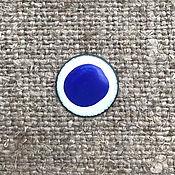 Материалы для творчества handmade. Livemaster - original item Overglaze paint FERRO Azurico No. №122500 blue. Handmade.