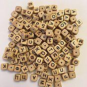 Материалы для творчества ручной работы. Ярмарка Мастеров - ручная работа Буквы из ясеня с тиснением. Handmade.