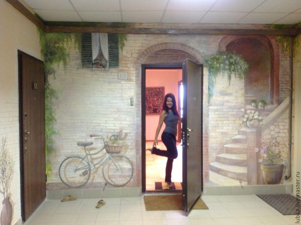Компания роспись стен