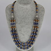 Украшения handmade. Livemaster - original item Necklace made of natural stones ( sodalite, Jasper)