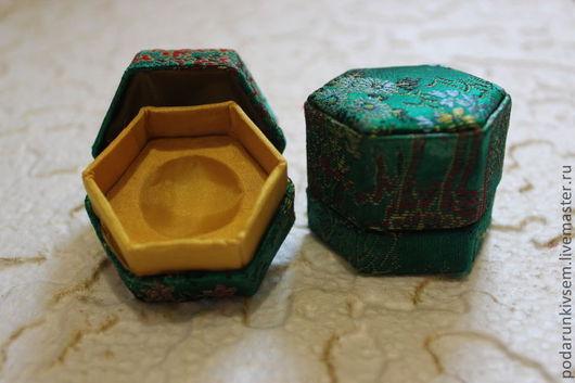 Упаковка ручной работы. Ярмарка Мастеров - ручная работа. Купить Китайская коробочка. Handmade. Коробочка, китайский стиль, ткань