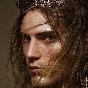 Украшения ручной работы. Ярмарка Мастеров - ручная работа Корона для фотосессий, мужская корона, корона унисекс. Handmade.