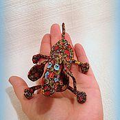 Куклы и игрушки ручной работы. Ярмарка Мастеров - ручная работа Миниатюрная такса ). Handmade.