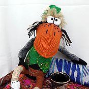 Куклы и игрушки ручной работы. Ярмарка Мастеров - ручная работа МК-Ворон Шон Баба. Handmade.
