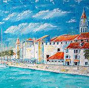 """Картина маслом """"Старая Европа.Хорватия"""""""
