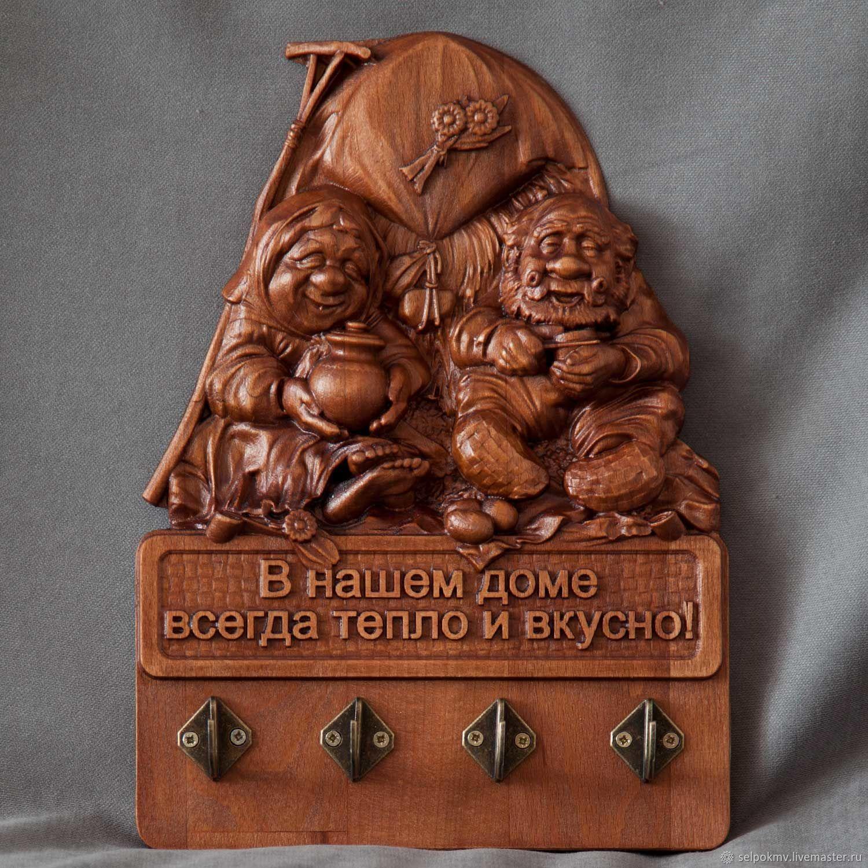 Эксклюзивный подарок  Изделия из дерева. Ключница, Комплекты аксессуаров для дома, Пятигорск,  Фото №1