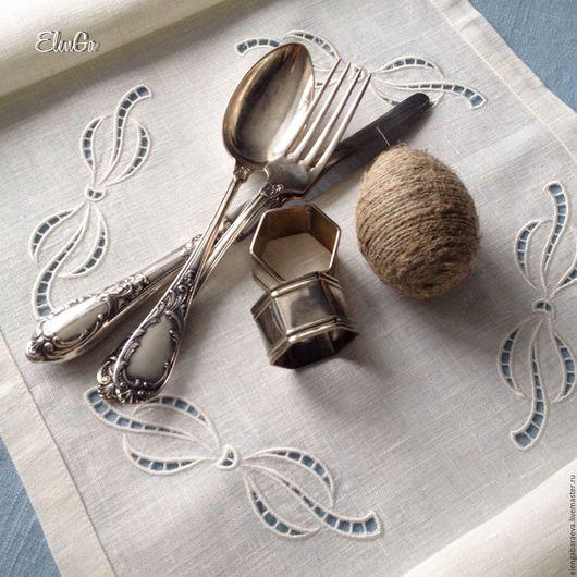 Текстиль, ковры ручной работы. Ярмарка Мастеров - ручная работа. Купить Дорожка скатерть салфетка с вышивкой - Кружевная пасха -Ришелье. Handmade.