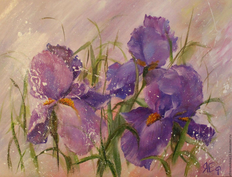 Фиолетовый цвет в картинах художников