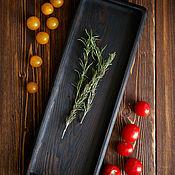 Для дома и интерьера handmade. Livemaster - original item Wooden tray