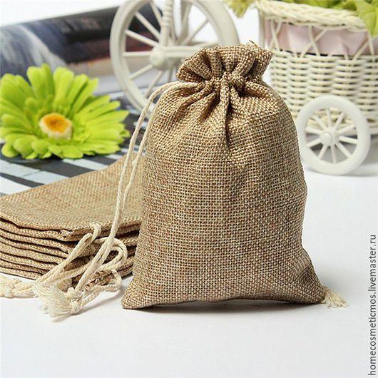 Упаковка ручной работы. Ярмарка Мастеров - ручная работа. Купить Мешочки для подарков. Handmade. Комбинированный, мешочек для трав, упаковка для подарка