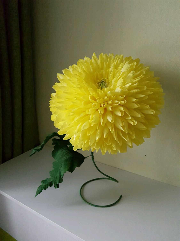 Мастер класс объемные цветы из бумаги на стену своими руками фото 74