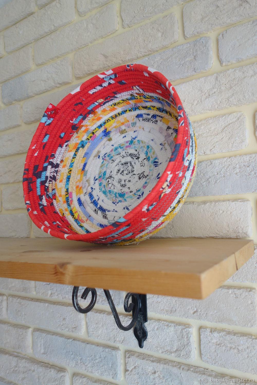 Textile basket, Basket, Kostroma,  Фото №1