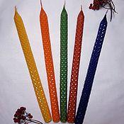 Свечи ручной работы. Ярмарка Мастеров - ручная работа Часовая свеча. Handmade.