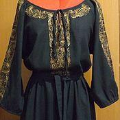 Одежда handmade. Livemaster - original item Copy of Copy of Copy of Womens embroidered tunic style Boho ЖР3-85. Handmade.