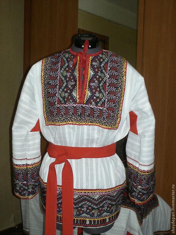 Русский народный мужской костюм своими руками