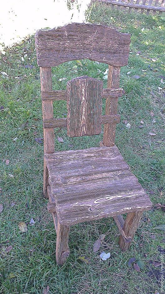 Мебель ручной работы. Ярмарка Мастеров - ручная работа. Купить Стул состаренный. Handmade. Коричневый, стул из дерева, стул состаренный