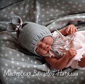 Материалы для творчества handmade. Livemaster - original item MK description bonnets for newborn Sweet dreams (Sweet dreams). Handmade.