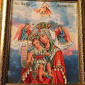 Картины и панно ручной работы. Ярмарка Мастеров - ручная работа Божья Матерь-Достоино есть. Handmade.