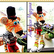"""Куклы и игрушки ручной работы. Ярмарка Мастеров - ручная работа Стильный тигр """"Мистер Джон"""".. Handmade."""