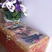 Для дома и интерьера ручной работы. Ярмарка Мастеров - ручная работа старая шкатулка. Handmade.